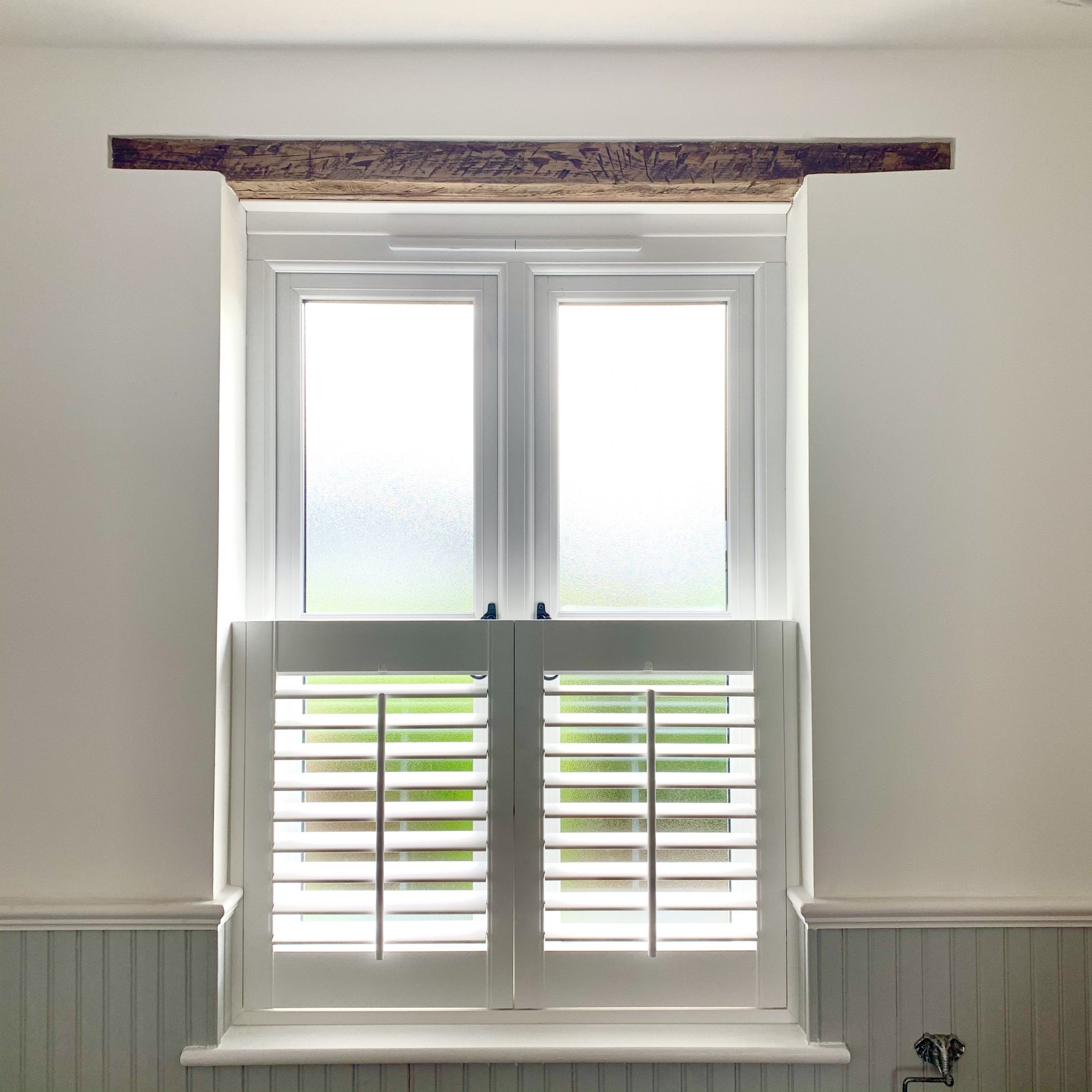 Classic Cafe Style Shutters